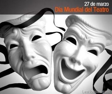 Hoy se celebra como cada 27 de marzo el Día Mundial del Teatro