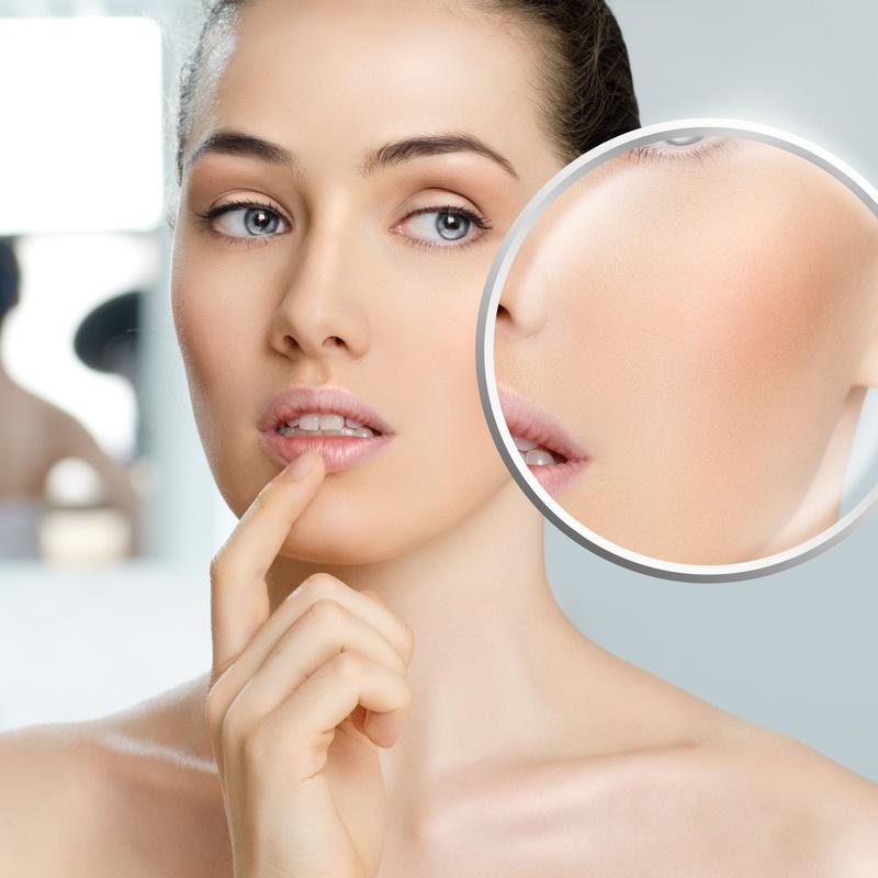 Piel deshidratada. Arrugas finas: Tratamientos de Clínica Asuar Olivares