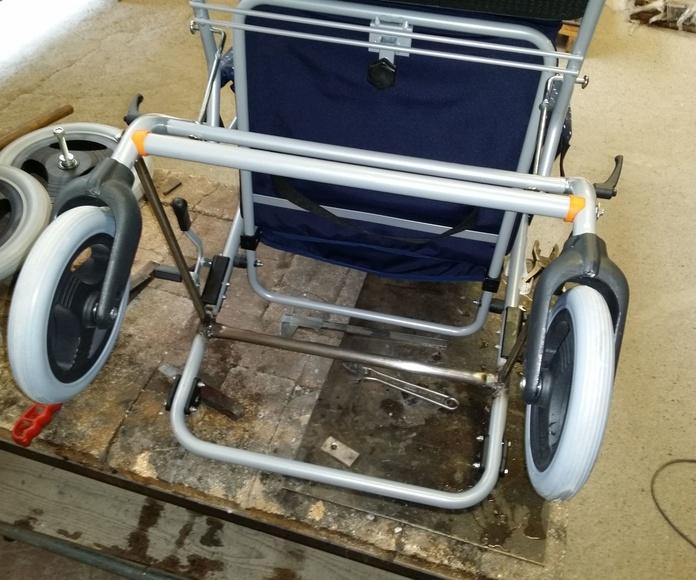 refuerzo silla de ruedas