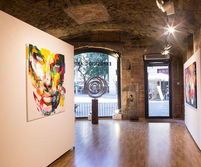 Villa del Arte en el gótico de Barcelona | Vista interior
