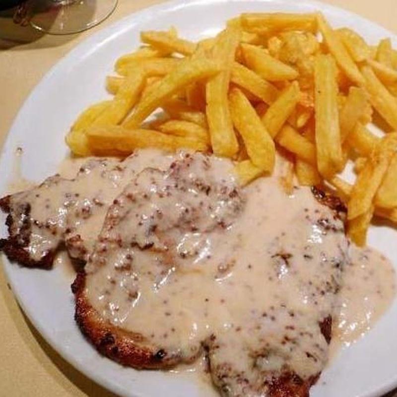 Menús restaurante Las Olas en Calpe
