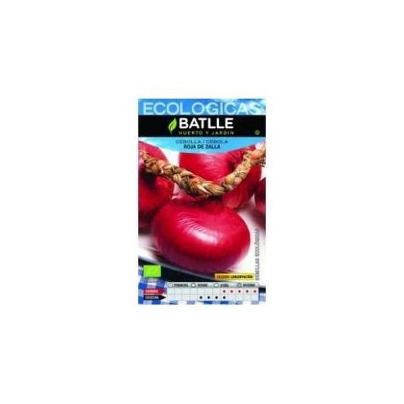 Semillas ecológicas de Cebolla Roja de Zalla Ref.32