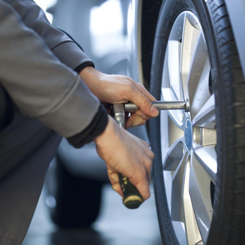 Cambio de neumáticos: Servicios de Grupo Carsan