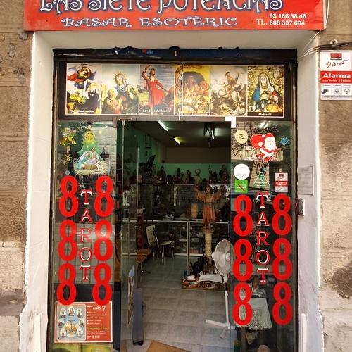 Tienda esotérica en Barcelona