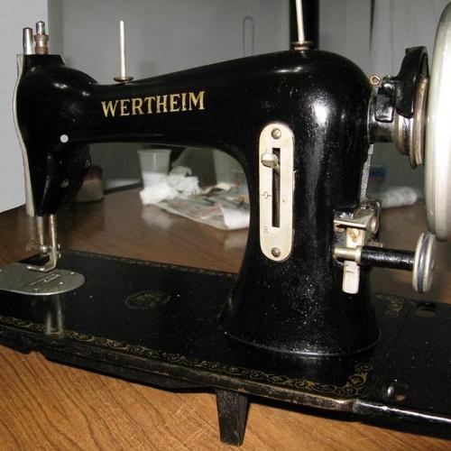 Cabezal de la máquina antes de la restauración