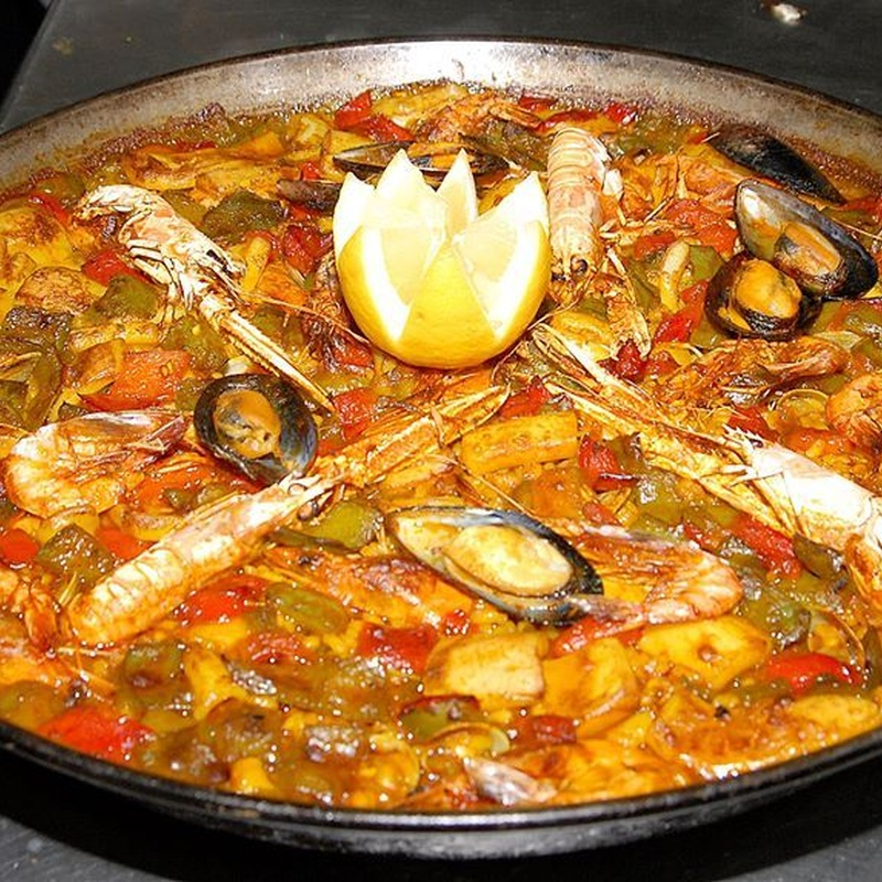 Rest. La Barca del Salamanca. Paella y fideuá: Menús restaurantes de Grupo Silvestre