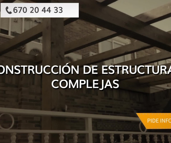 Casas estructura de madera Vitoria