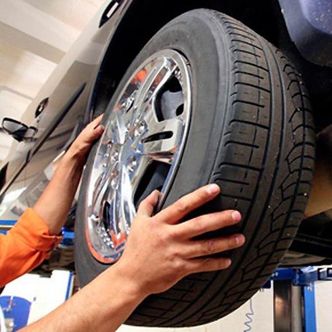 La alineación de las ruedas