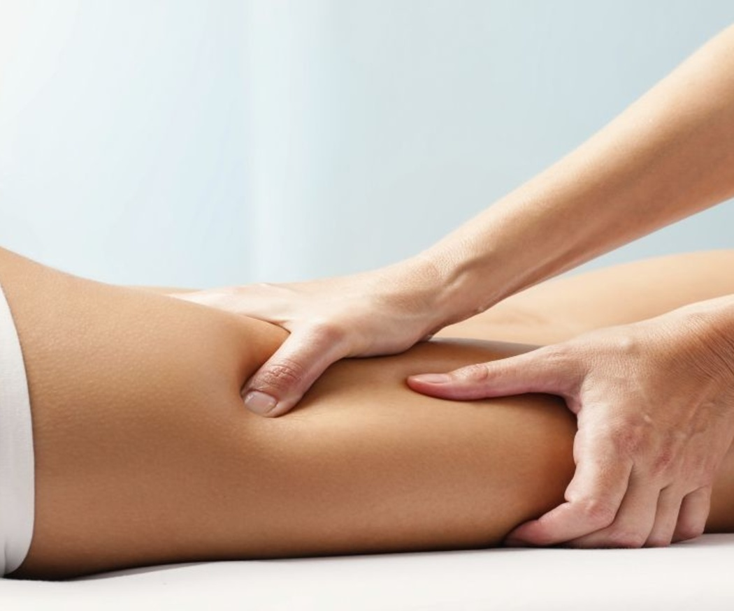 El masaje anticelulítico
