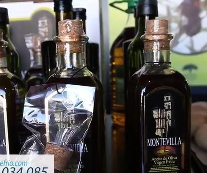 Productos típicos Montefrío