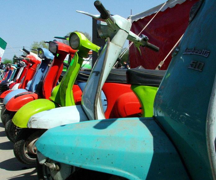 Restauración de motos clasicas