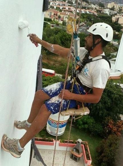 Todo tipo de trabajos verticales: Servicios de Pinturas y Reformas Kenay