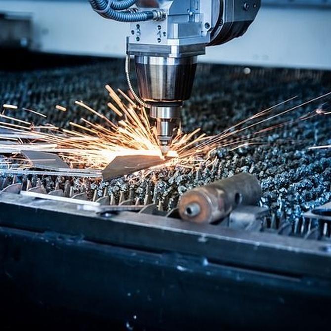 Metales aptos para el corte láser
