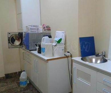 Sala desinfección