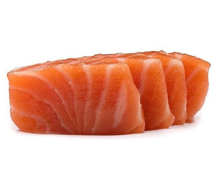 Sashimi de salmón: Carta de DANI LIU