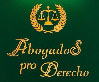 Arrendamiento, Desahucios, Ocupas (usurpación): Servicios de Abogados Pro Derecho- Lic. Alberto Martín Maldonado