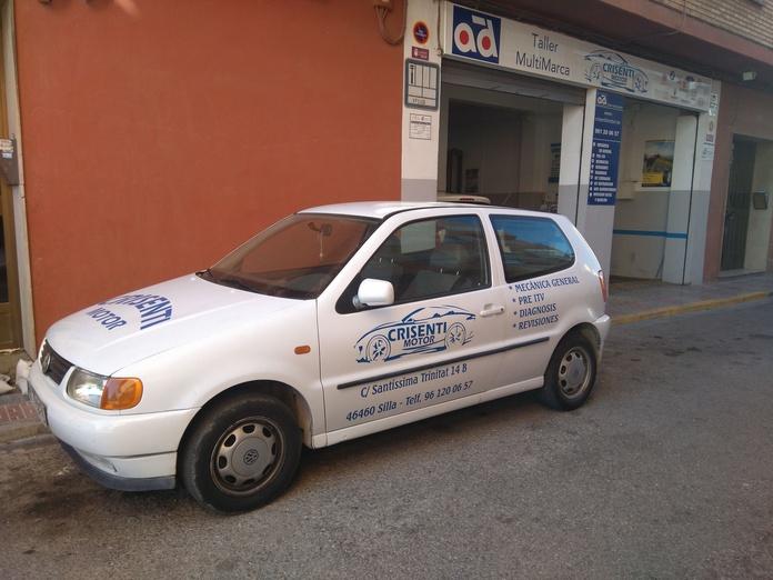 Vehículos de sustitución: Servicios de Talleres Crisenti Motor