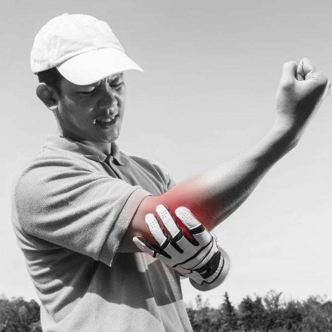 Codo de golfista, ¿cómo se soluciona?