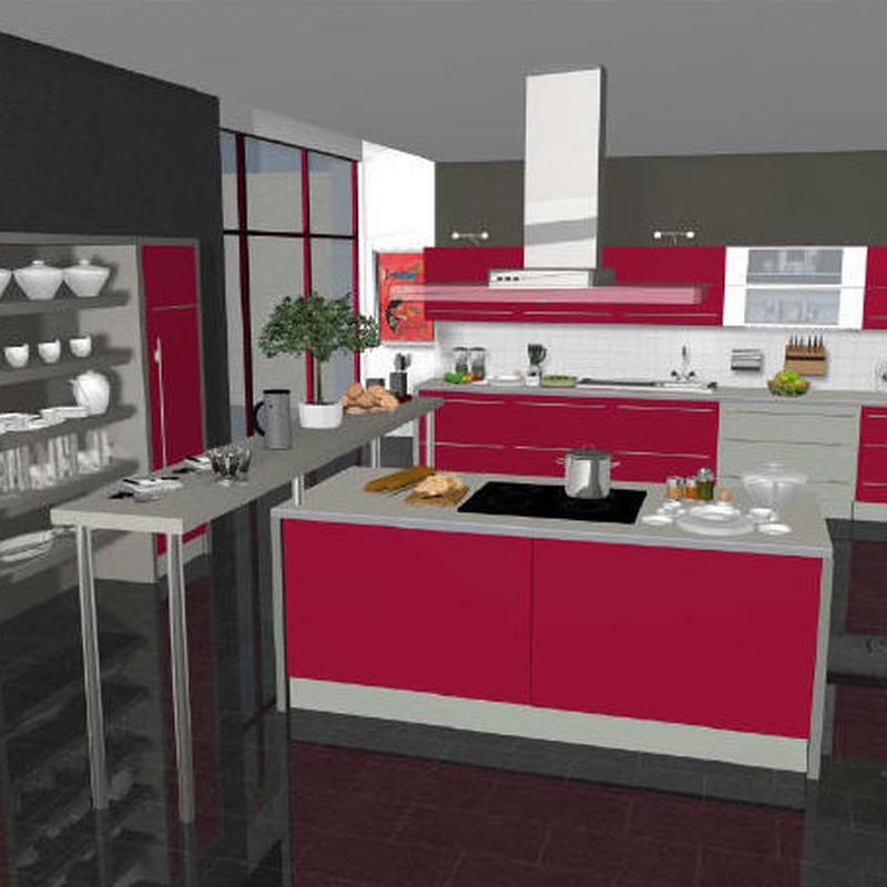 Diseños cocinas 3D: Productos y servicios de Construcciones y Reformas La Villa