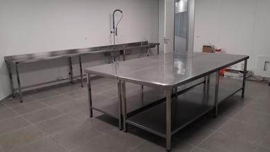 Mobiliario para centro de entrenamiento