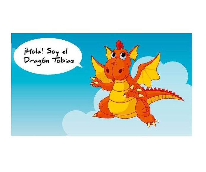 El Dragón Tobías: El Bosque de las Palabras de Librería Infantil El Hada Lucía