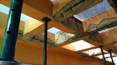 Arreglos cantos de forjado en Mallorca