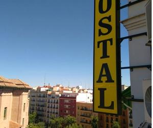 Hostal junto a la estación de Atocha en Madrid