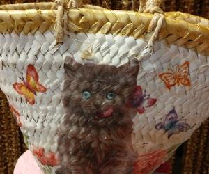 Mini cesta para niña.