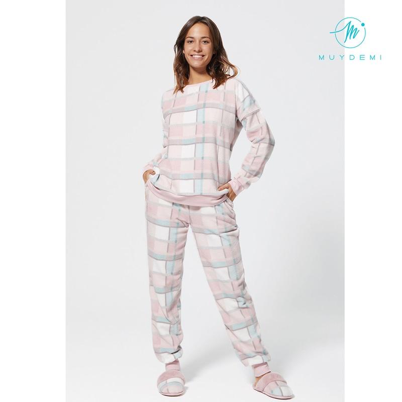 Pijama mujer cuadros