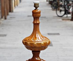 Lámpara de Manises caramelo   REF:LAM382