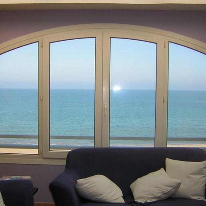 Distintas opciones de ventanas de PVC