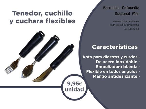 cubiertos flexibles