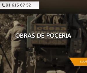 Obras de pocería Fuenlabrada | Todesa