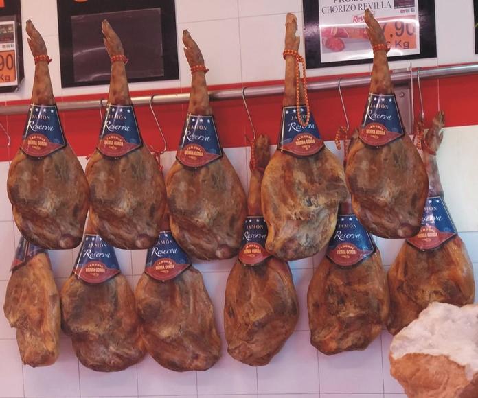 Ibéricos: Productos de Casa Rafa Carnicería Charcutería