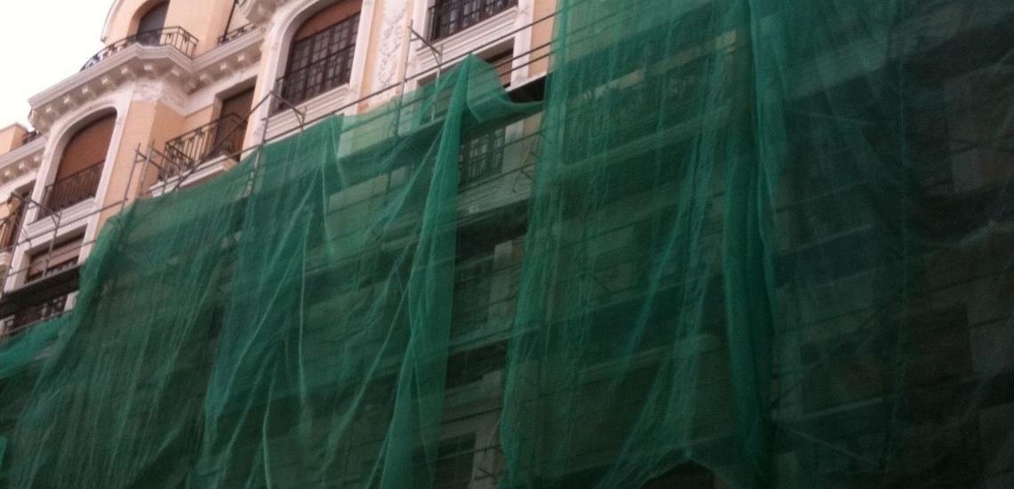 Alquiler de andamios en Madrid centro, montaje y desmontaje