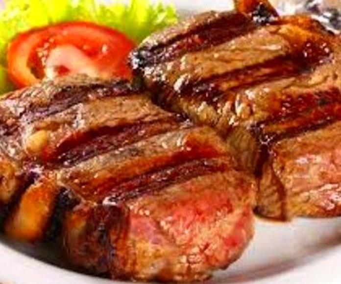 Carnes: Steak House de Restaurante La Malandrina