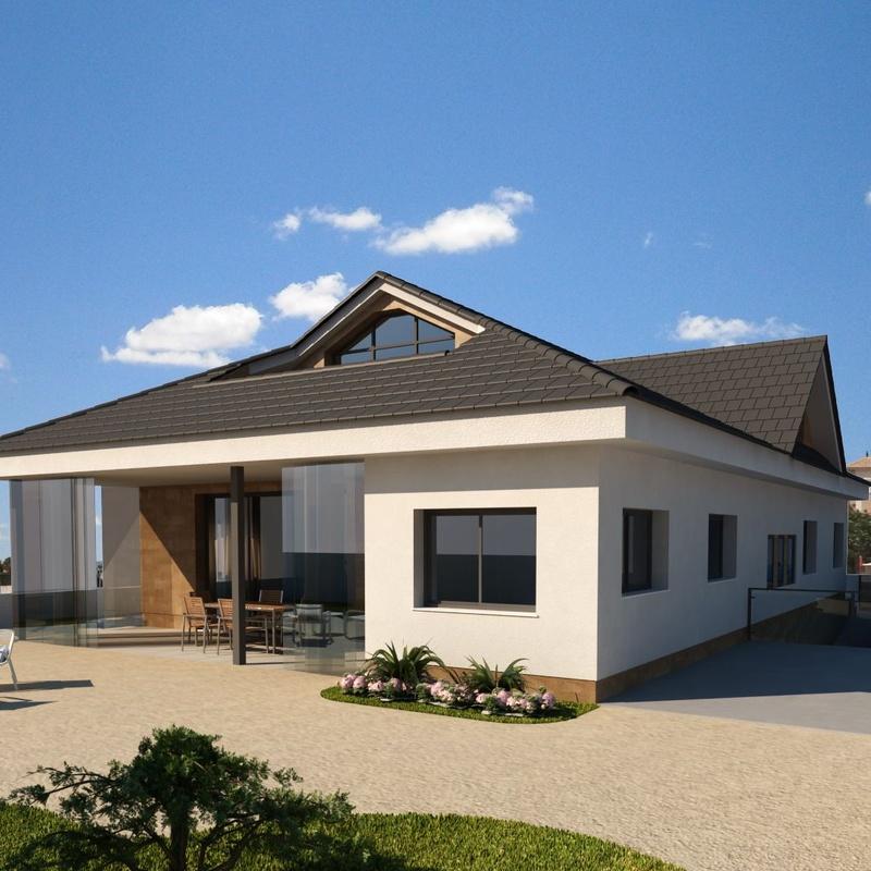 Casa unifamiliar aislada: Servicios de SM Despacho de Arquitectura