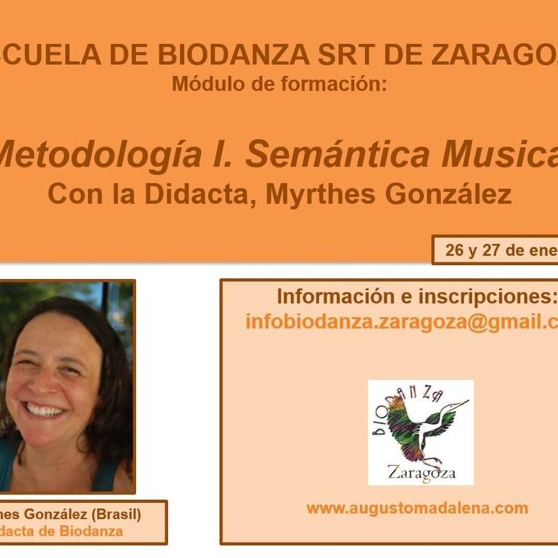Módulo de Formación. Metodología I. Semántica Musical. Con Myrthes González. Enero 2019