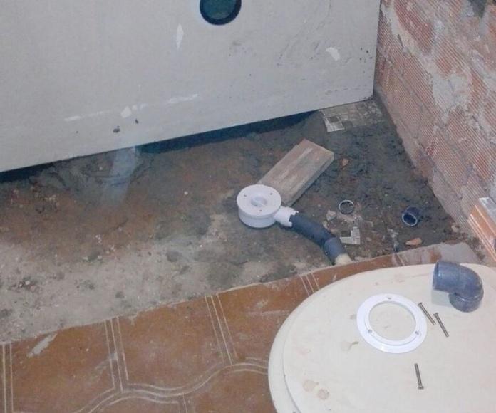 Instalación de plato de ducha