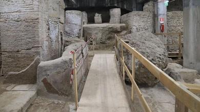 Descubren el laboratorio imperial de Galeno, el médico más célebre de la Antigua Roma