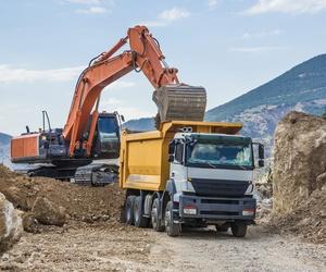 Transporte de áridos y material de construcción