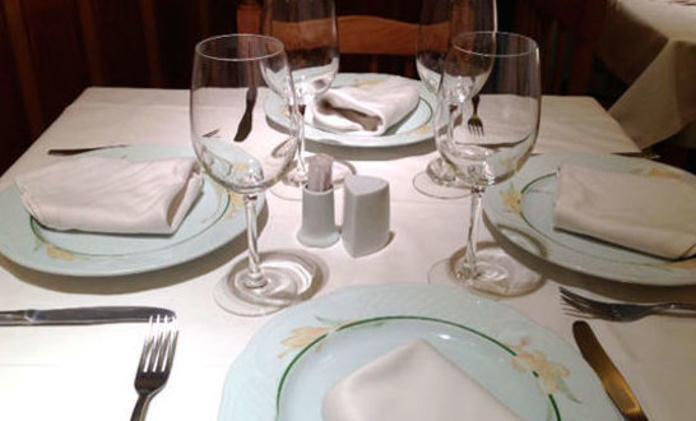 comidas y cenas para grupos
