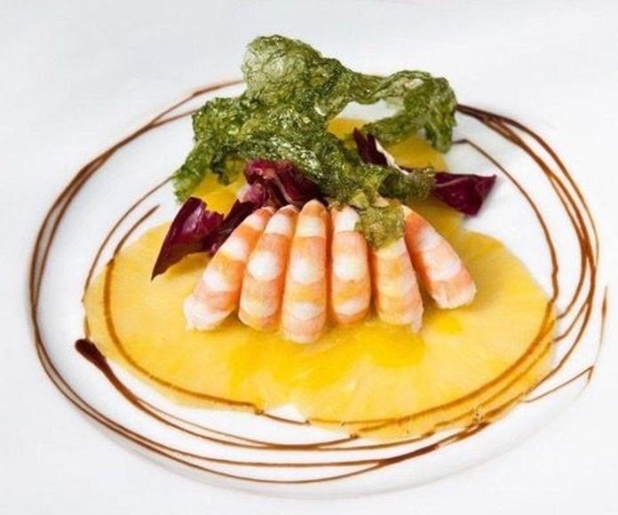 Comidas y cenas sentados: Servicios de catering de Catering Ondarreta