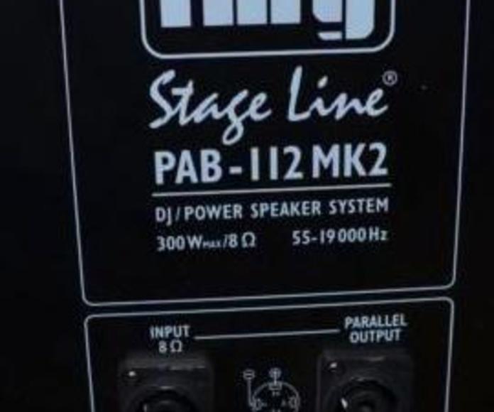 ALTAVOZ PASIVO PAB-112MK2: Nuestros productos de Sonovisión Parla