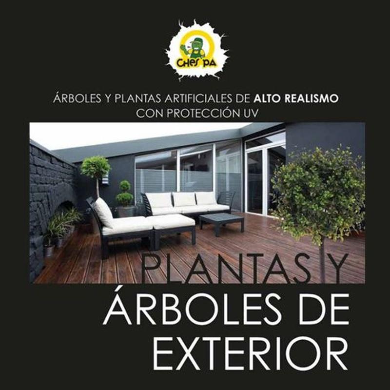 Venta y distribución de plantas artificiales para exterior: ¿Qué hacemos? de Ches Pa, S.L.
