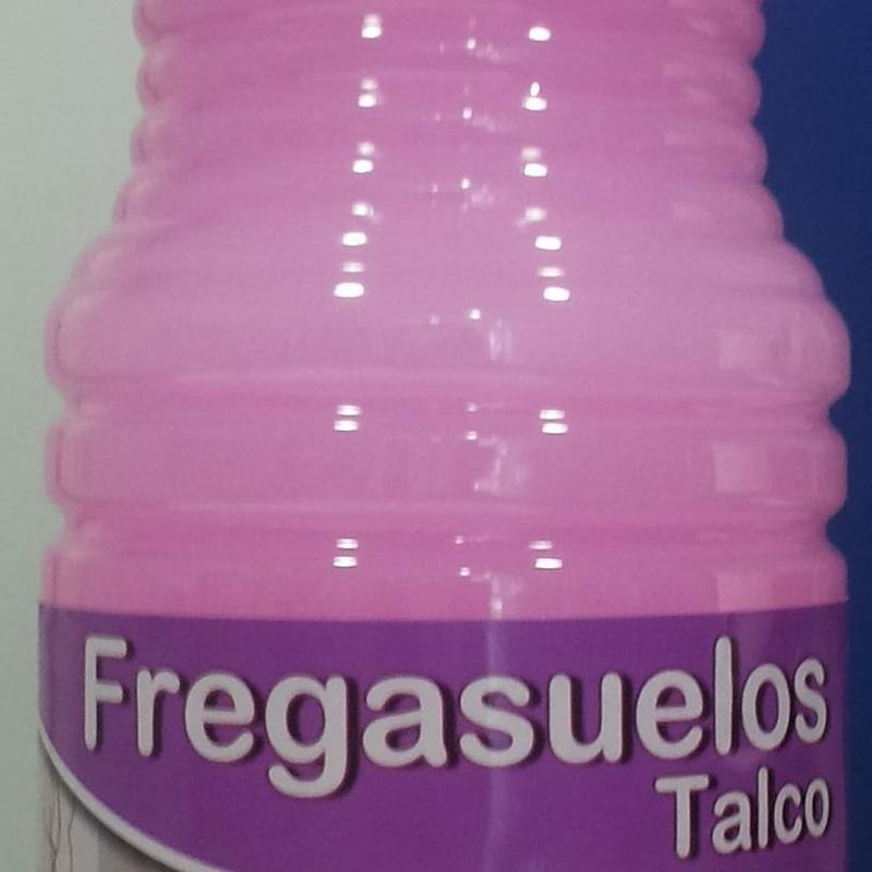 Fregasuelos el Mayordomo Talco 1,5L: SERVICIOS  Y PRODUCTOS de Neteges Louzado, S.L.