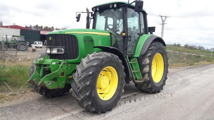John Deere 6920S: Nuestros tractores de Tractores José Carlos Martín