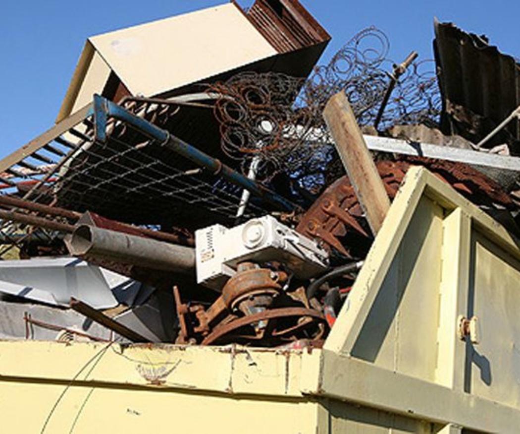 Normas para instalar un contenedor de escombros