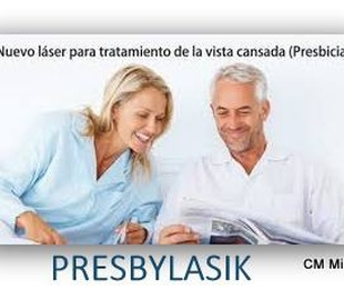 PRESBYLASIK Cirugia laser para corregir la presbicia