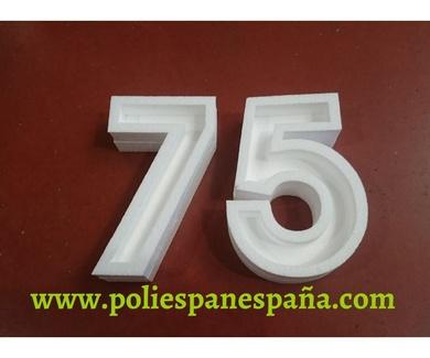 Rótulos Baratos con Relieve 3D en poliespan a Medida en Barcelona